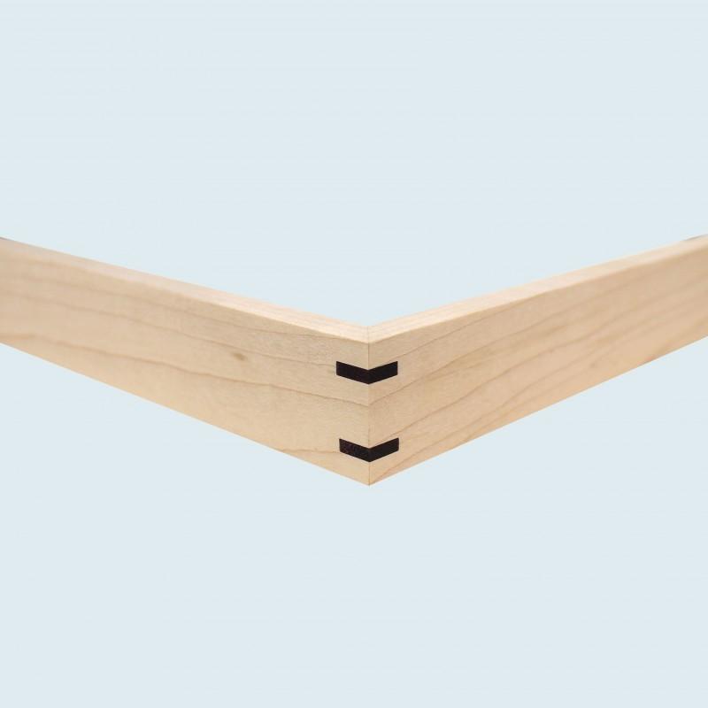 1032-3 met ahorn puple wood hoek 3mm (N)