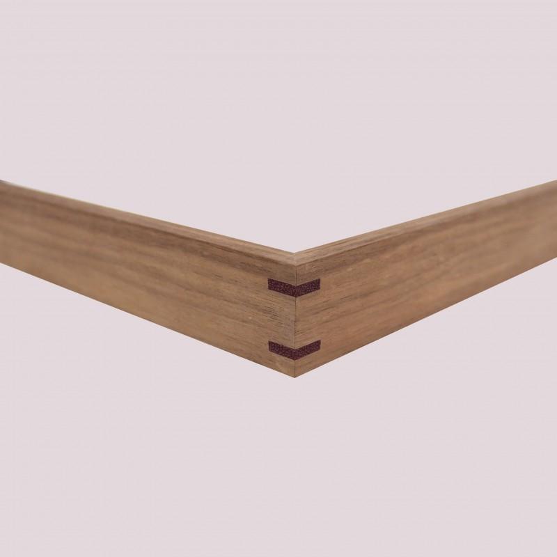1032-7 Walnoot met purple wood hoek 3mm (N)
