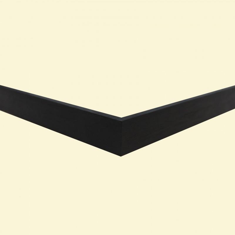 Walnoot schuin met zwart (N)